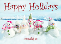 Snowgang Holiday Cards