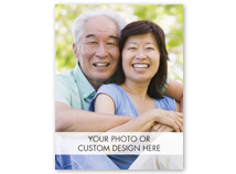 Custom Greeting Card (Vertical, Value Size, Folded)